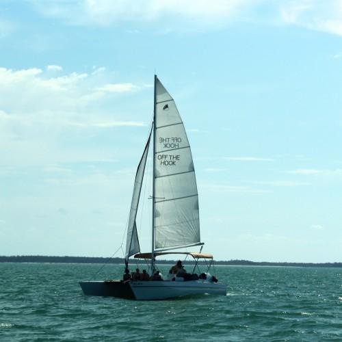 Boat Tour To Private Beach Naples Florida
