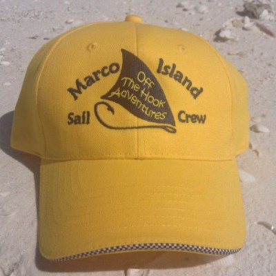 Marco Island sail and shell hat