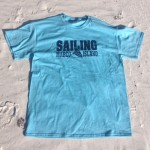 blue Marco Island sail shell shirt