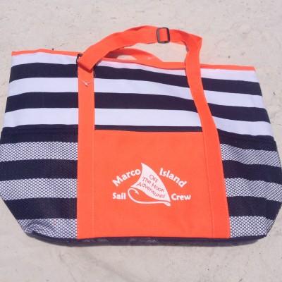 Marco beach boat tour souvenir cooler orange